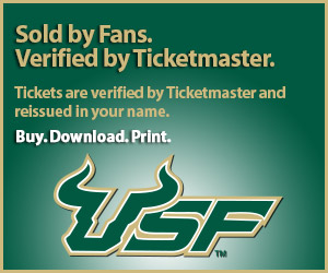 USF Tickets Verified by Ticketmaster