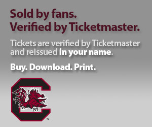 University of South Carolina Tickets Verified by Ticketmaster
