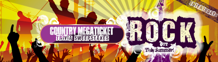 Click here to win Country Megatickets!