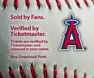 Angels Tickets Verified by Ticketmaster