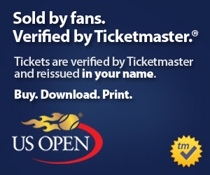 US Open Tickets Verified by Ticketmaster